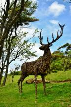 Sculpture of a stag
